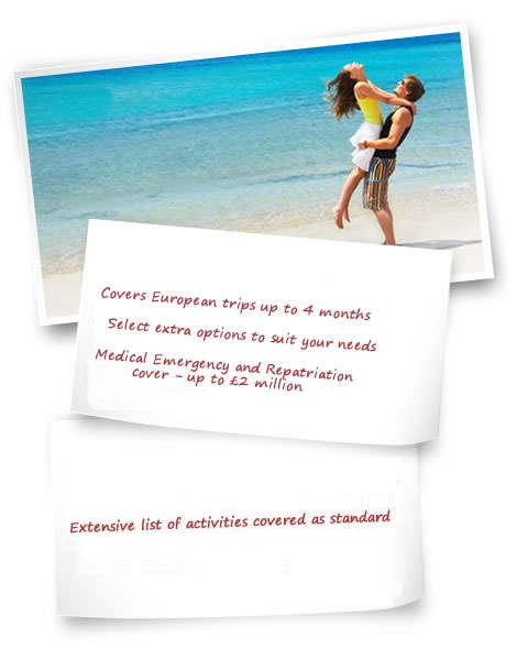 extras with euro travel insurance